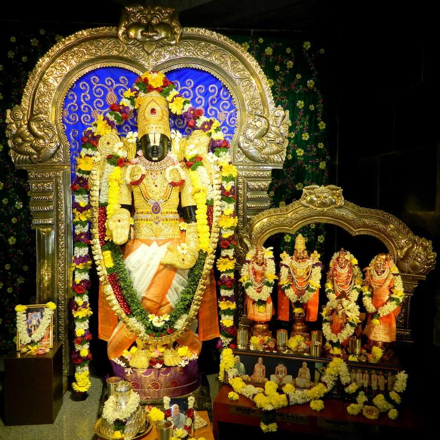 ISKCON Pune NVCC Deity Darshan 08 Jan 2017 (10)