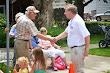 Eric Shaking Hands at Hartland Parade 2