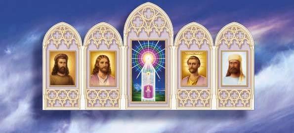 Resultado de imagen de altar maestros ascendidos