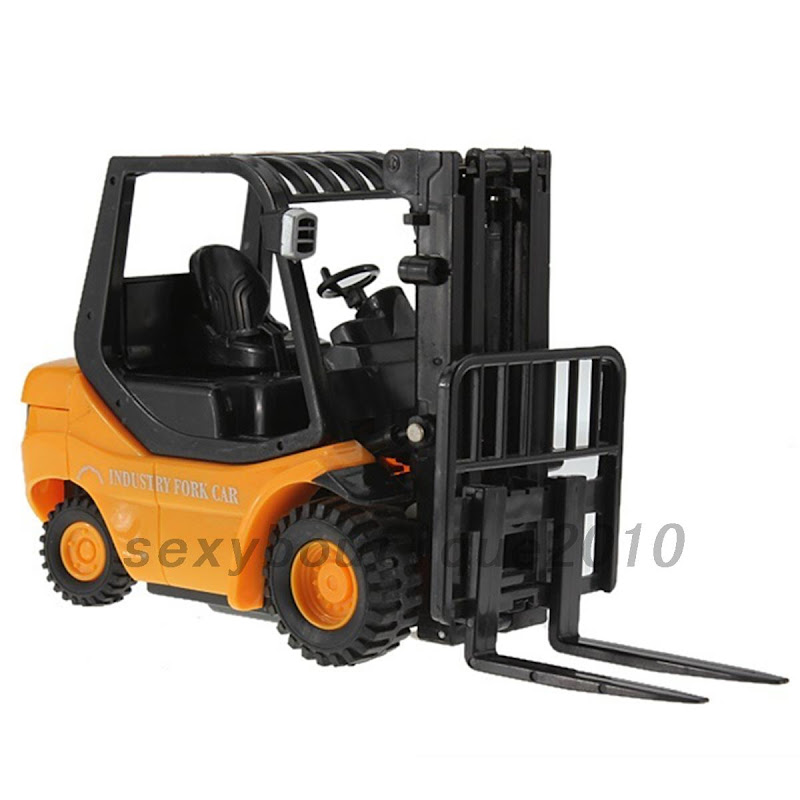 Fork Truck Controls : Mini rc toy forklift fork lift radio remote control truck