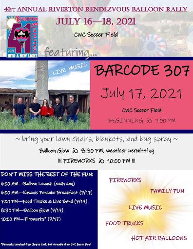 41st Annual Riverton Rendezvous Balloon Rally