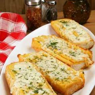 North Woods Inn Garlic Cheese Bread.
