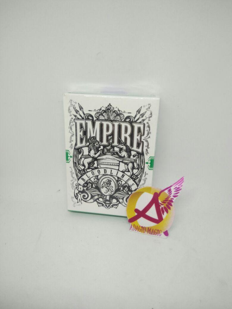 Adagio Magic Shop Kartu Remi Empire Bloodiness Emerald Green Bonus