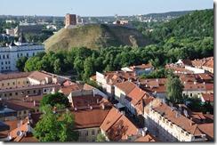 10 Vilius le chateau de 1323 tour Gedimino