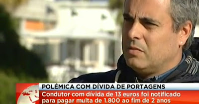 Polémica! Automobilista Português Não Pagou 13 Euros Em Portagens E Recebeu Multa De 1800 Euros!!