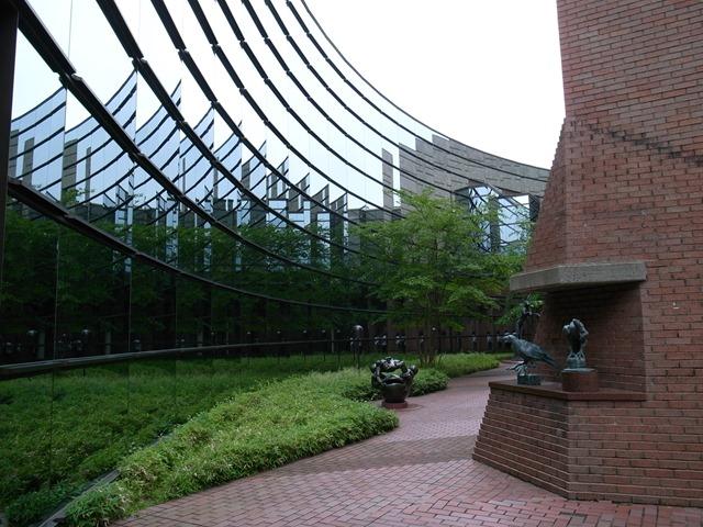 宮城県美術館アリスの庭感想建物建築