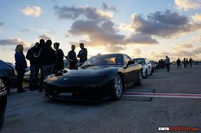Black Mazda RX7
