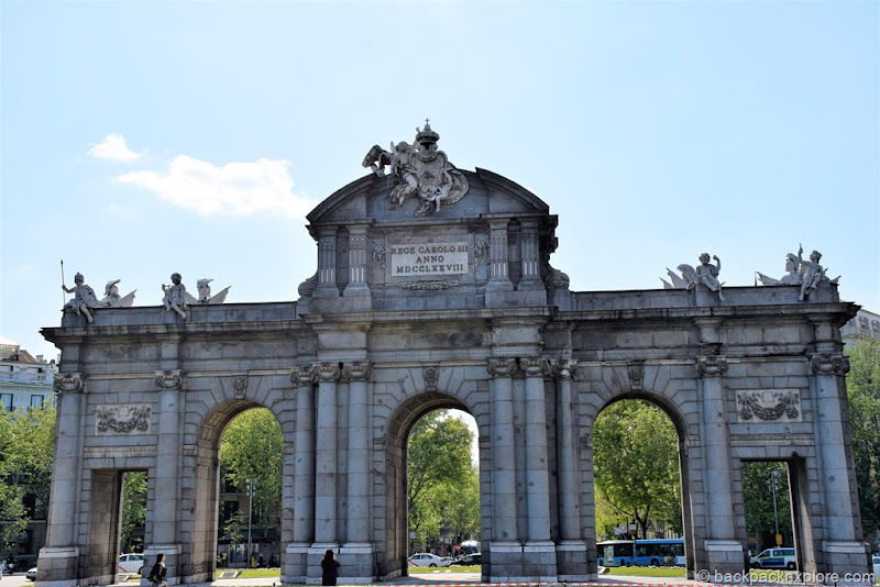 Madrid in 2 days | Alcala Gate