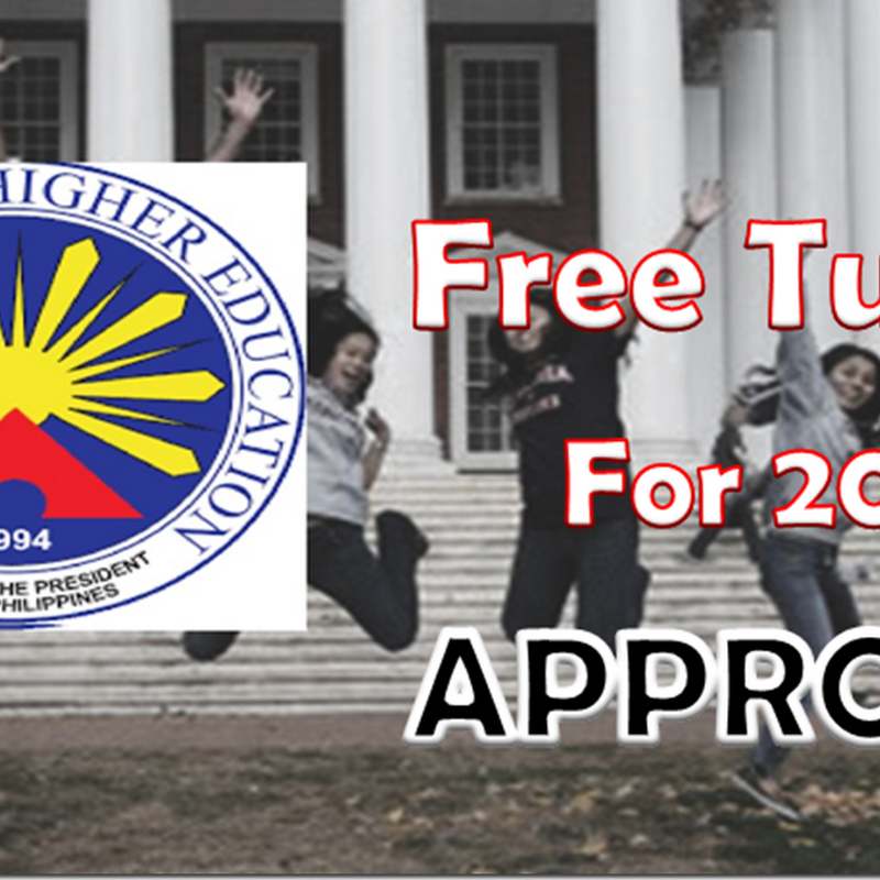 BREAKING NEWS! FREE TUITION for All state Universities and Colleges in the Philippines