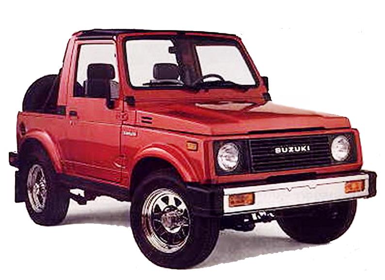 SuzukiJeepinfo  1985  Suzuki Samurai  SJ413 U S Edition