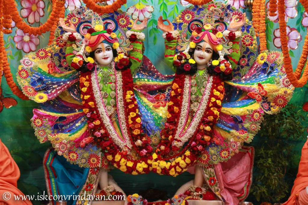 ISKCON Vrindavan Sringar Deity Darshan 18 Dec 2015 (3)