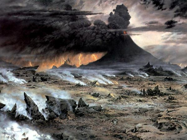 Volcano Of The Ancient Evil, Magical Landscapes 2