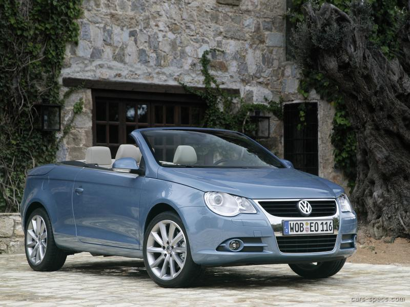 2008 volkswagen eos convertible specifications pictures. Black Bedroom Furniture Sets. Home Design Ideas