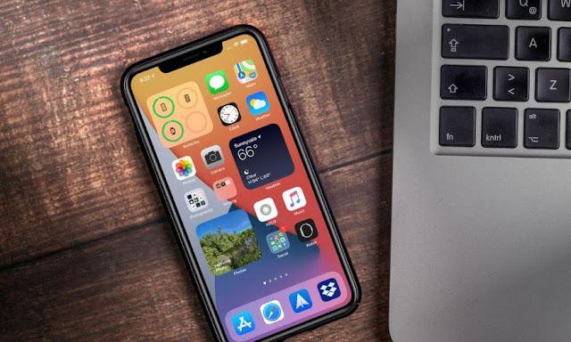 ماذا تعني النقطة الخضراء على الايفون في نظام iOS 14؟