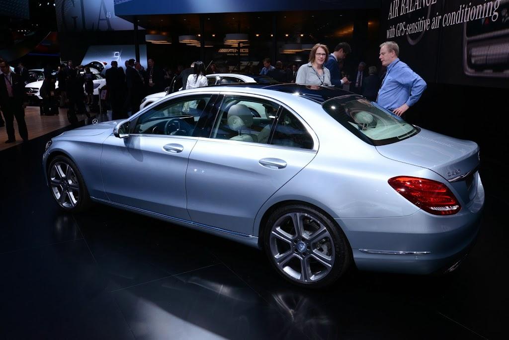 2015 Mercedes Benz C-Class NAIAS 4