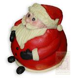 6. kép: Karácsonyi torták - Mikulás torta