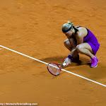STUTTGART, GERMANY - APRIL 21 : Petra Kvitova in action at the 2016 Porsche Tennis Grand Prix