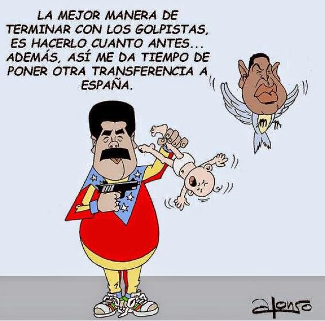 Resultado de imagen para Caricaturas del ladrón Maburro
