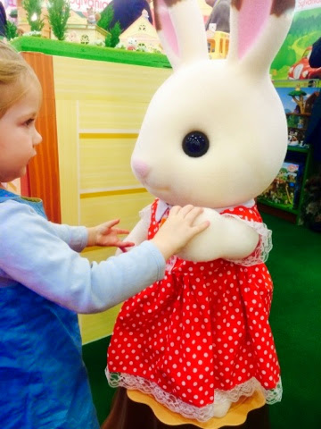 Maegan and Freya Rabbit - Sylvanian Families