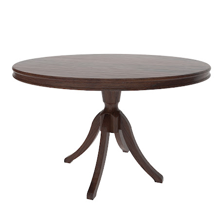 "36"" Tonkin Round Table in Mahogany Oak"