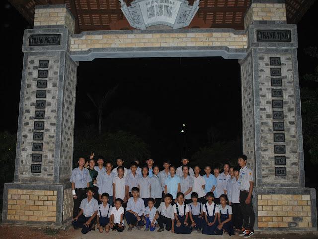 Ban Điều Hành GĐPT KVTX Quảng Trị kiểm tra thăm viếng đơn vị Long Hưng