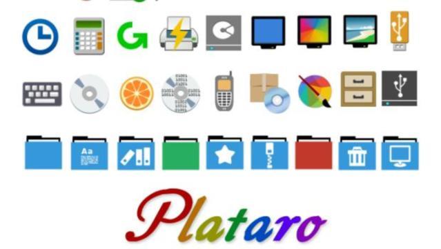 Hace mucho tiempo que no aparece un tema de iconos en el blog. Así que me  complace presentar Plataro d6678d4b503