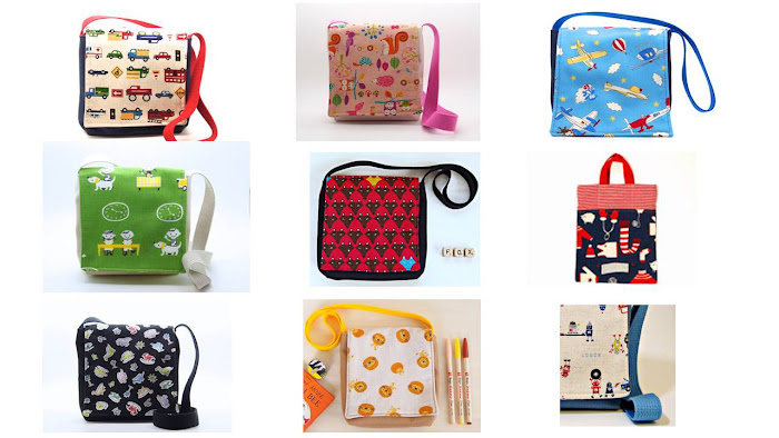 Messenger bag children Montessori