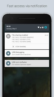 Pocketshare: Datentransfer NAS Screenshot
