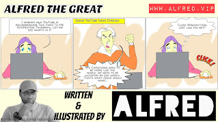 Alfred The Great - Comic Strip - 15th November 2020