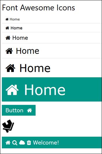 Ícones gratuitos para sites - Font Awsome - Visual Dicas