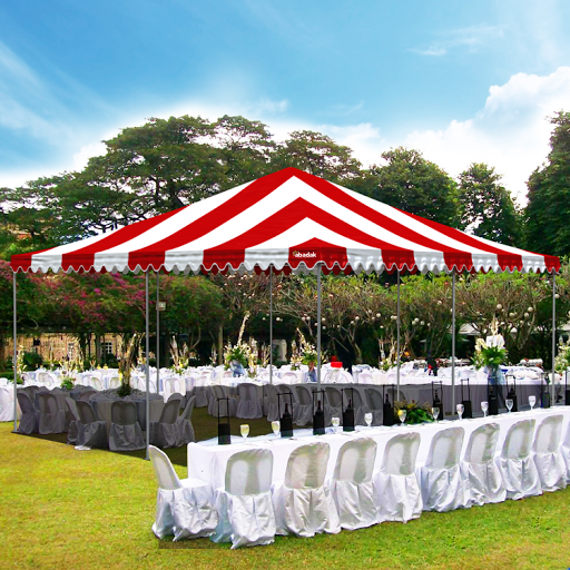 Most commercial grade party tent sizes range from 10u0027 x 10u0027 two 30u0027 x 40u0027. Industrial size party tents can range up to 100u0027 x 300u0027 but will require building ... & Ace Canopy: Commercial Grade Party Tents