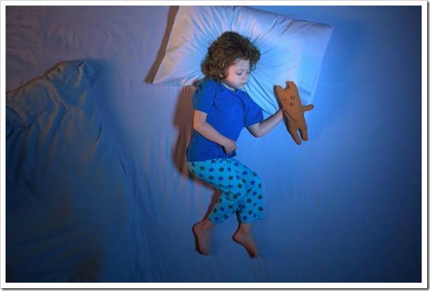 E se il bimbo fa la pipì a letto? Non preoccupatevi ci pensa Drynites!
