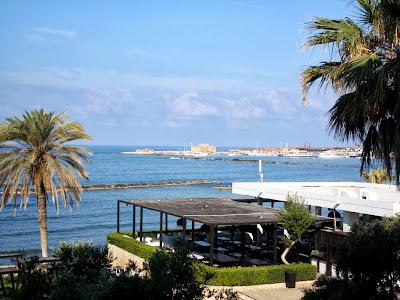 Mediterranean Sea in Paphos, Cyprus