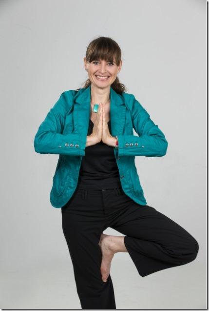 Berthold Yogastellung