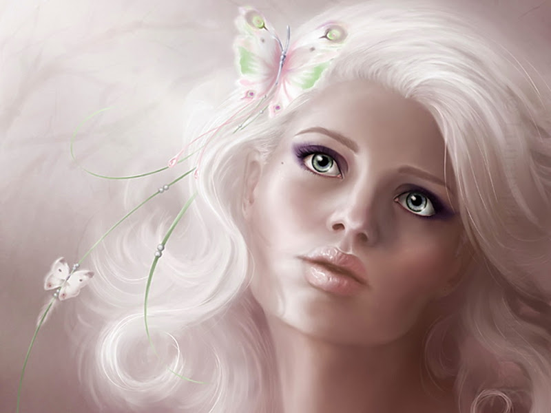 Snow Girl With Green Eyes, Magic Beauties 1