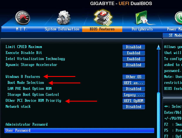 Gigabyte Secure Boot Disable