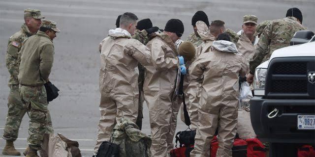 35 Tentara AS Positif Virus Corona, Pentagon Segera Isolasi 2.600 Lainnya