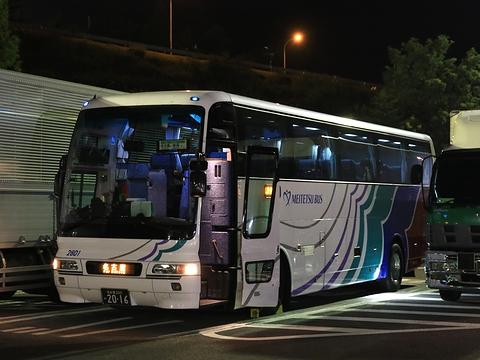 名鉄バス「名古屋~新潟線」 2801 姨捨SA休憩中