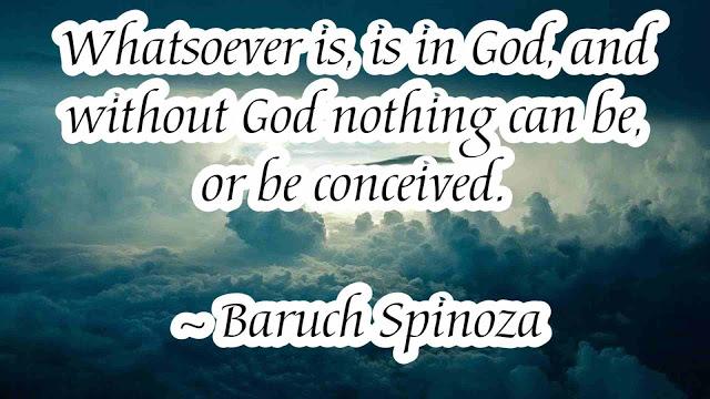 good Quotes by  Spinoza