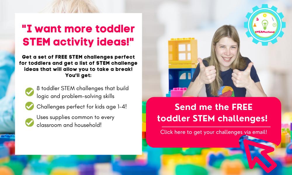toddler stem challenges