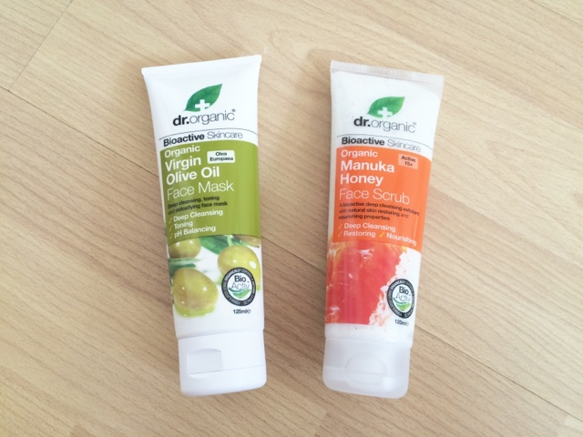 Dr.Organic Face Mask and Scrub