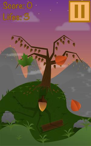android Super Leaf Swiper 2D Screenshot 2
