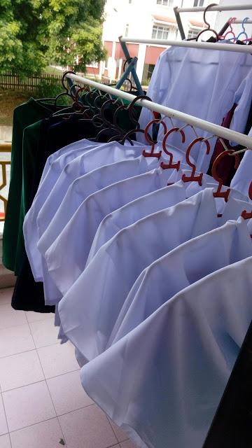 Basuh Baju Sekolah Amani