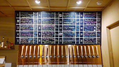 Hello from Mikkeller Tokyo with 20 taps