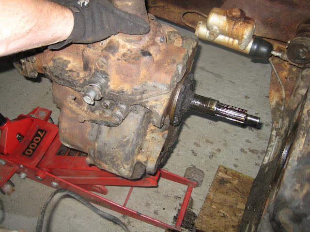 Transmission and Driveshaft | Mark's 1949 Chevy Truck
