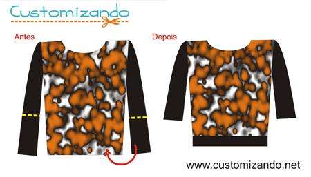 Customizando uma Blusa