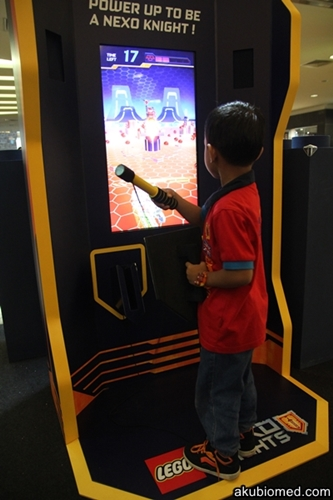 permainan interaktif NEXO KNIGHTS