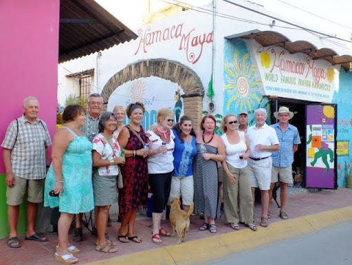 Friends at Hamaca Maya