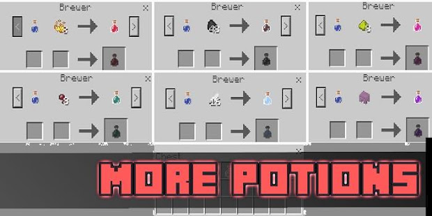 More Potions Mod For Mcpe Apps Bei Google Play