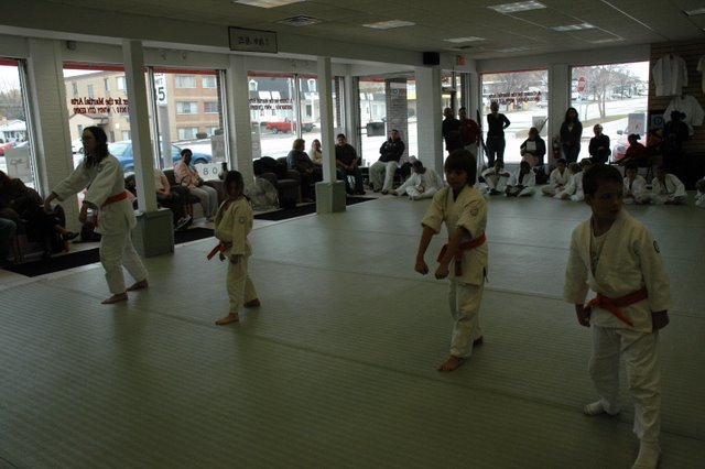 Aikido test for children at Soseikan - Novermber 11th, 2008